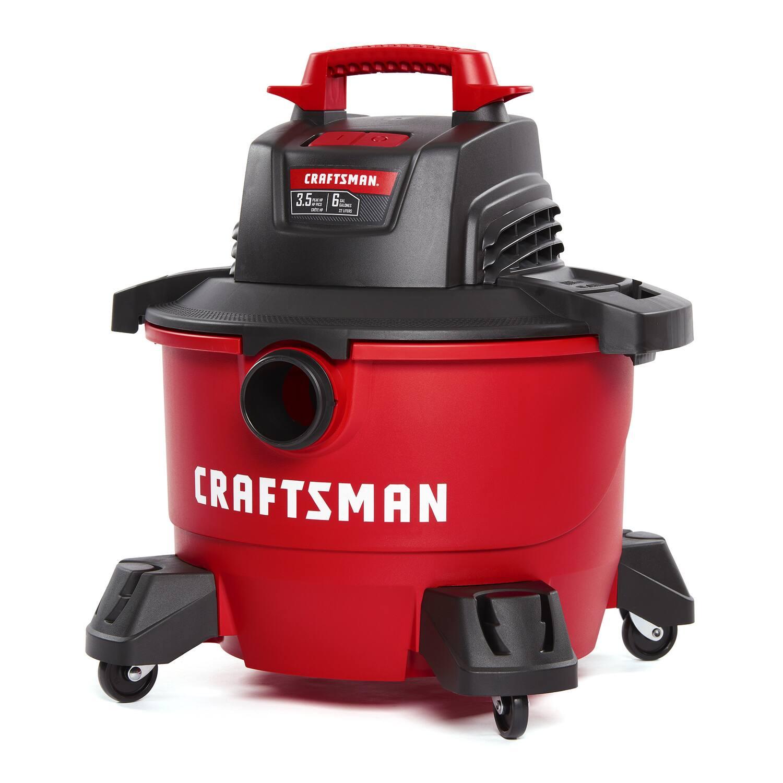 Craftsman 6-Gallon Corded Wet/Dry Vacuum