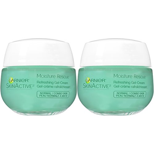 Garnier Skinactive Moisture Rescue Face Moisturizer, Normal/Combo, 2 Count