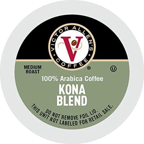 80-Count Victor Allen Coffee Medium Roast K-Cups (Kona Blend)