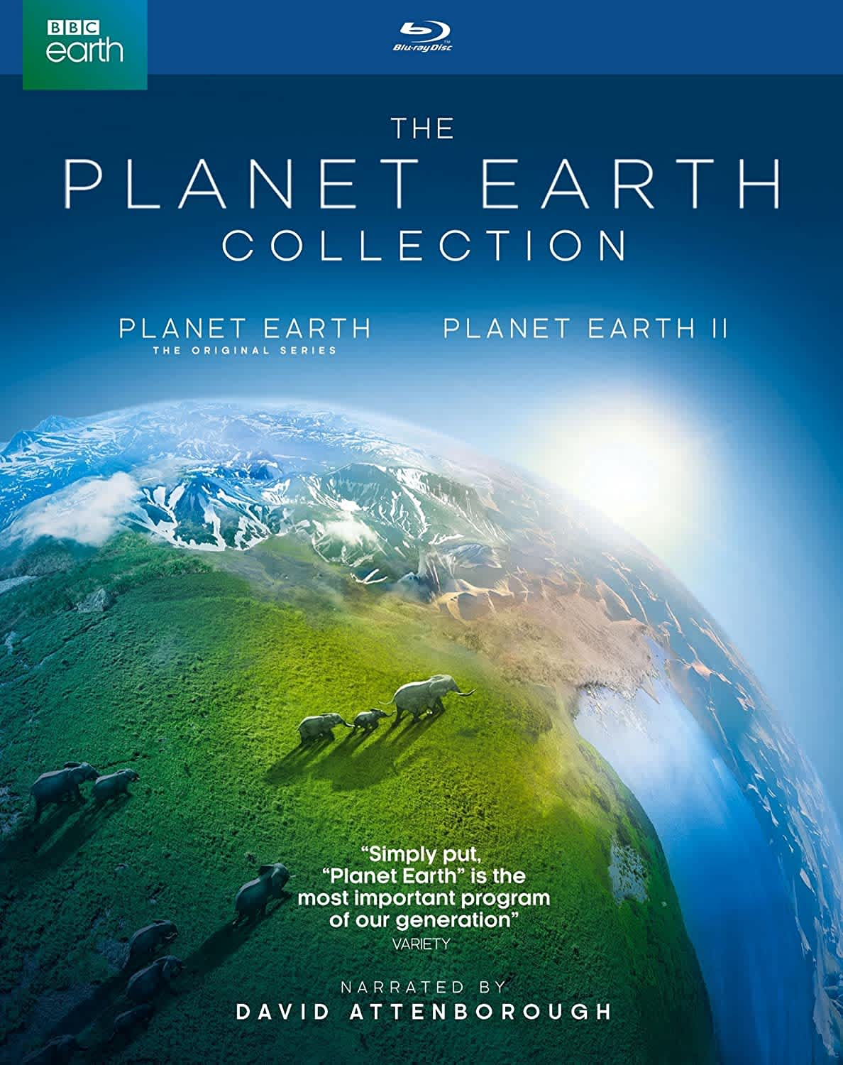 Planet Earth I and II on Blu-ray