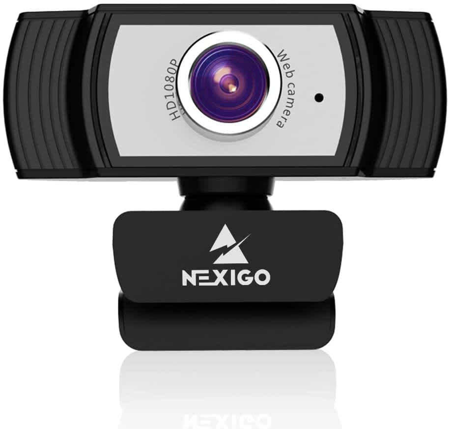 NexiGo 1080p Webcams at Amazon