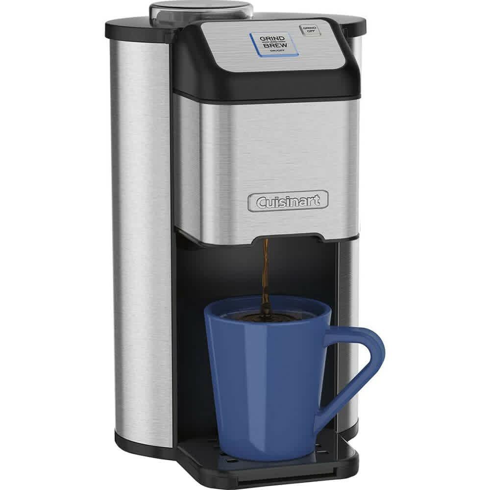 Certified Refurbished Cuisinart Grind & Brew Single Cup Coffeemaker