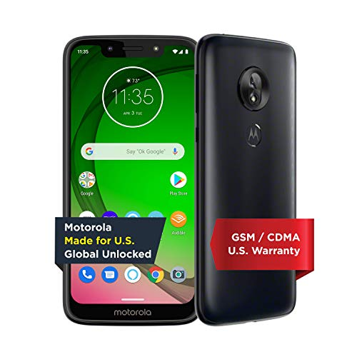 史低价!Moto G7 Play 32GB 无锁版 智能手机