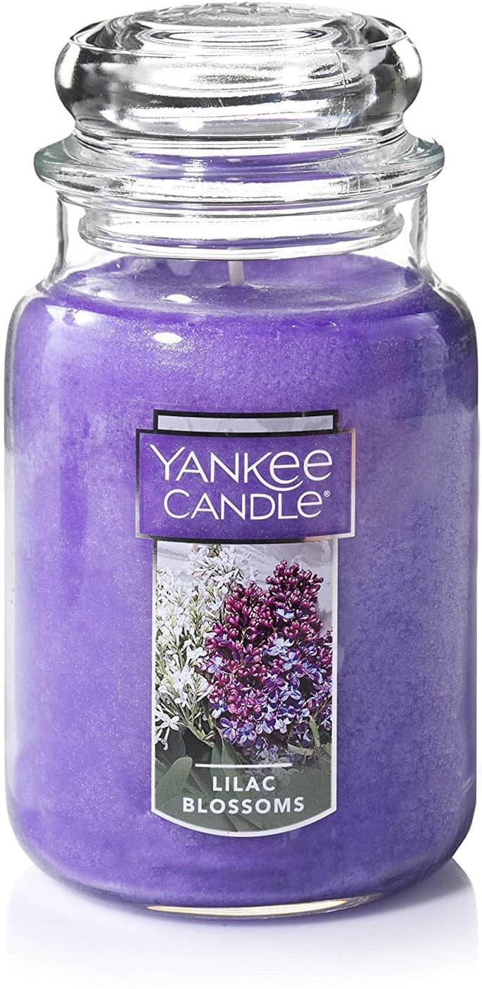22-Ounce Yankee Candle Large Jar Candle (Lilac Blossoms)