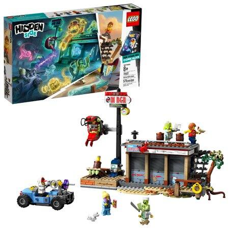 LEGO Hidden Side Shrimp Shack Attack AR Toy Building Set + $10 Walmart Gift Card