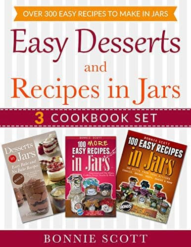 """Easy Desserts and Recipes in Jars"" 3-eBook Set"