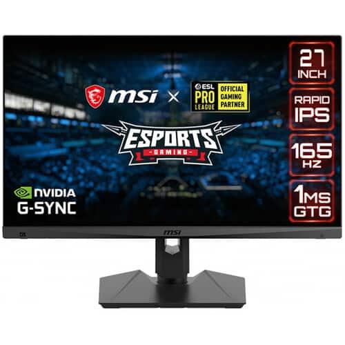 "27"" MSI Optix WQHD 165Hz 1ms IPS Gaming Monitor w/ G-Sync Pre-Purchase"