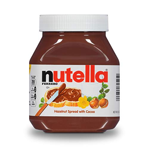 Nutella Chocolate Hazelnut Spread美味榛子可可味面包涂抹酱,26.5  oz