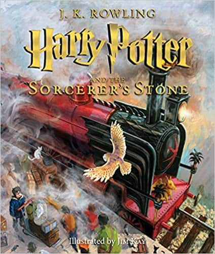 Harry Potter and the Sorcerer's Stone: The Illustrated Edition (Hardcover Book)