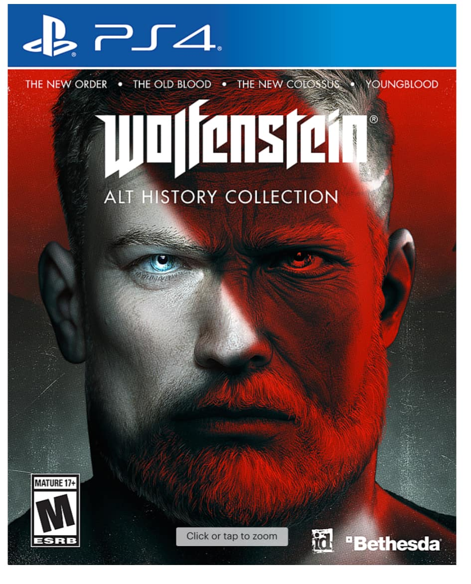 Wolfenstein: The Alternative History Bundle (PS4 or Xbox One)