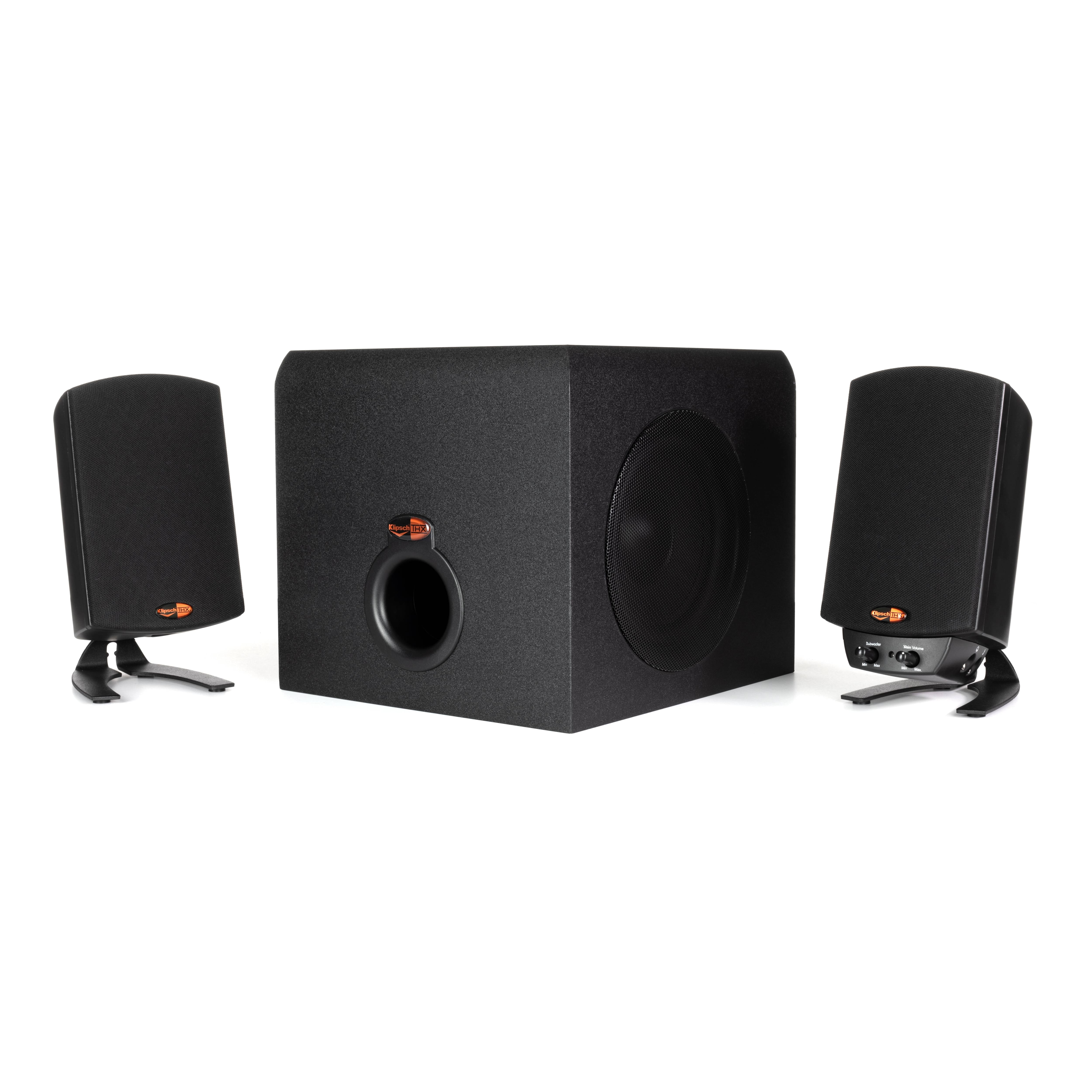 Klipsch ProMedia 2.1 THX Computer Speakers (Black)