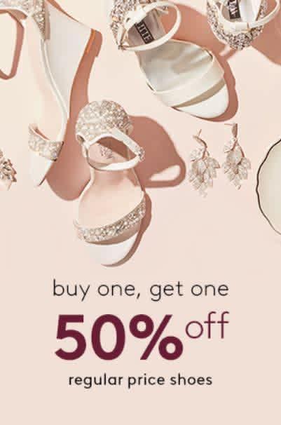 Cyber Week at David's Bridal: All regular price shoes