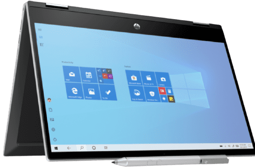 """HP Pavilion x360 14t-dw100 11th-Gen. i3 14"""" Touch 2-in-1 Laptop w/ HP Pen"""