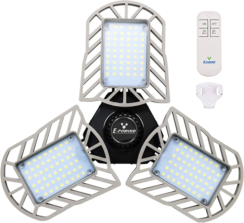 E-Powind 80W LED Garage Light