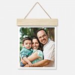 "11""x14"" Wood Hanger Board Print"