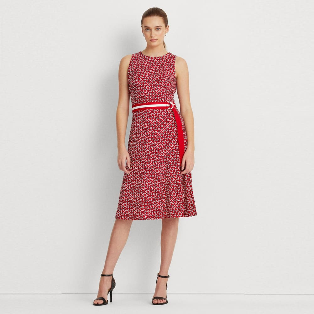 Lauren Ralph Lauren Women's Print Jersey Dress