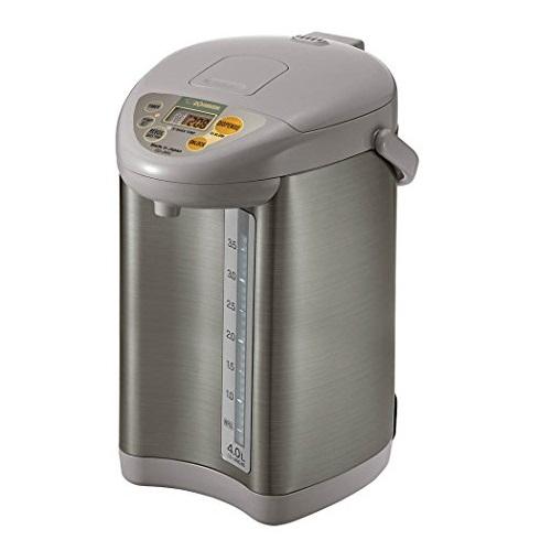 Zojirushi CD-JWC40HS Water Boiler & Warmer, 4 L, Silver Gray