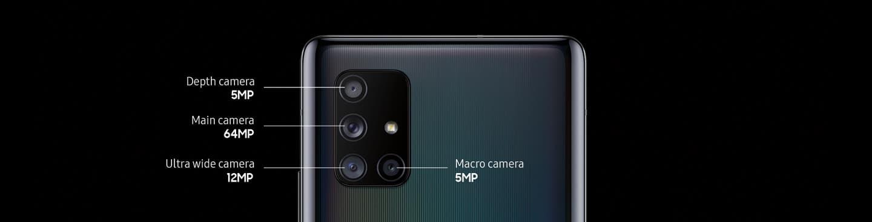 T-Mobile: 128GB Samsung Galaxy A71 5G Smartphone