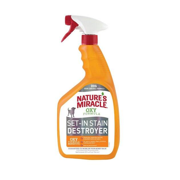 32-Oz Nature's Miracle Dog Set-In Stain Destroyer Oxy Formula (Orange Scent)