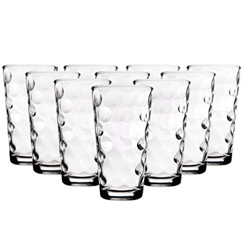 Home Essentials & Beyond Eclipse High Ball Glass 17 oz, set of 10