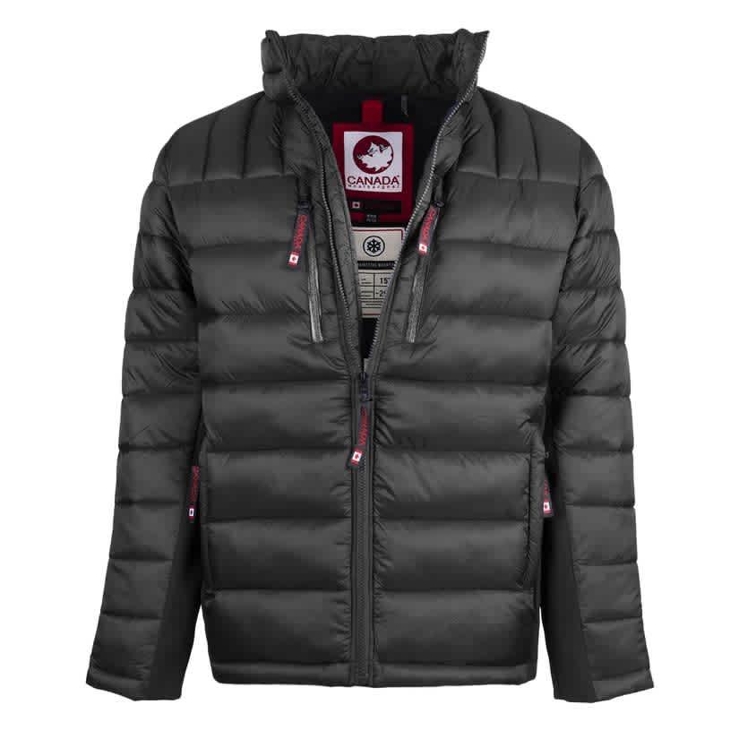 Canada Weather Gear Men's Light Weight Puffer Jacket