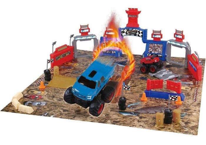 Ford Monster Truck Mayhem 54-Piece Playset