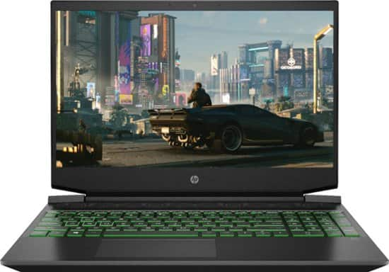 "HP Pavillion 15.6"" Gaming Laptop: Ryzen 5 4600H, 8GB DDR4, 256GB SSD, GTX 1650"