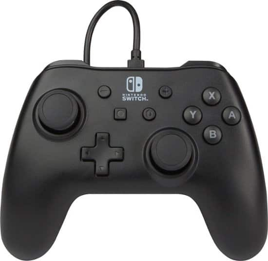 PowerA Wired Controller for Nintendo Switch (Matte Black)