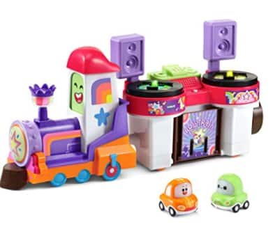 VTech Toys: Go! Go! Cory Carson DJ Train Trax & The Roll Train Set