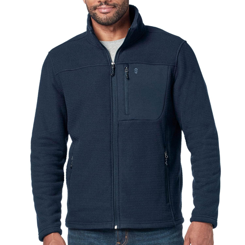Sam's Club Members: Free Country Men's Grid Fleece Jacket (various colors)