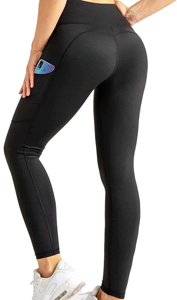 Cjoy Women's Tummy Control Leggings