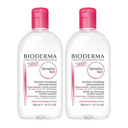 Bioderma贝德玛Sensibio H2O舒妍洁肤液,16.7 oz/瓶,共2瓶