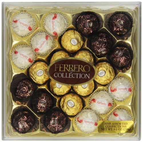 超好吃的巧克力!Ferrero费列罗巧克力 三种口味 混合礼盒,24粒