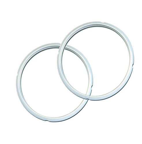 Instant Pot Sealing Rings, Twin Pack Transparent White, for 5 Qt/L or 6 Qt/L Models