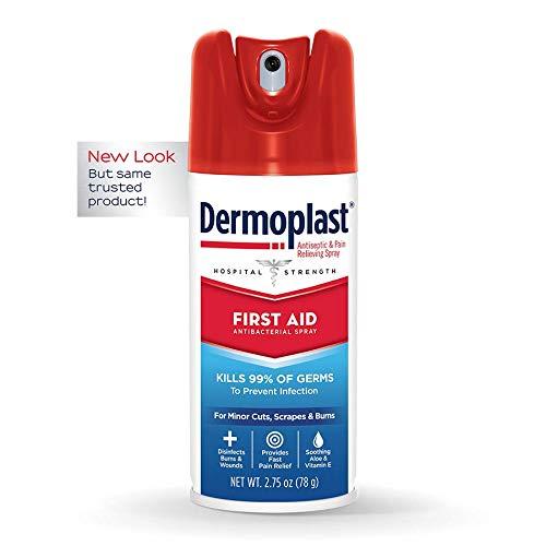 Dermoplast First Aid 急救杀菌止痛喷雾,2.75 oz