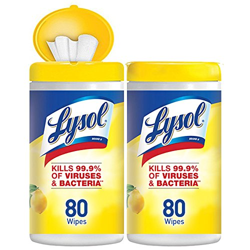 Lysol Disinfecting Wipes, Lemon & Lime Blossom, 160ct