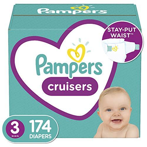 Pampers Cruisers 帮宝适纸尿布,3号174片,点击Coupon仅售