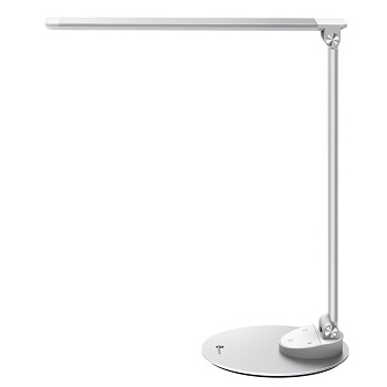 TaoTronics LED Desk Lamp with USB Charging Port, Eye- care Dimmable Lamp, Metal, G lare-Free,  TT-DL19