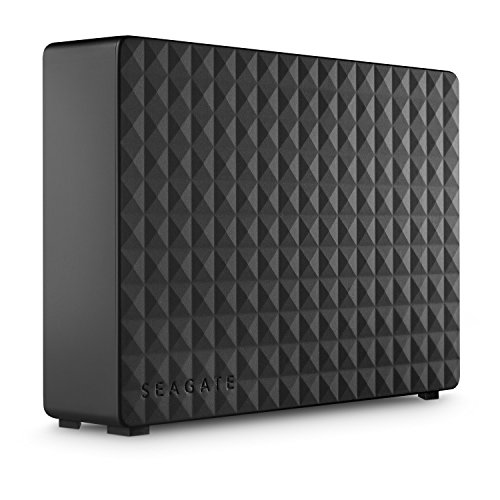 Seagate Expansion Desktop 12TB External Hard Drive HDD - USB 3.0 for PC Laptop, 1-Year Recovery Service (STEB12000402)