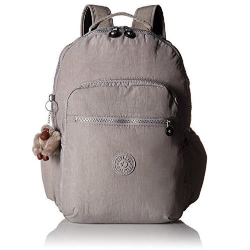 "Kipling Seoul Go Large Printed Laptop 15"" Backpack Sunny Shine"