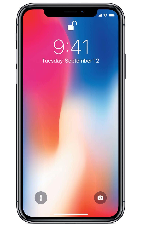 Refurb Unlocked Apple iPhone X 256GB GSM Smartphone