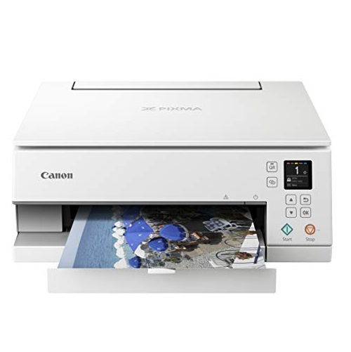 Canon Pixma TS6320 WH, Amazon Dash Replenishment Ready