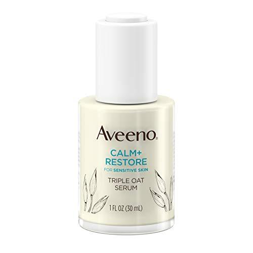 史低价!Aveeno 艾维诺 Calm + Restore 三重燕麦保湿面部精华液,敏感肌肤可用,30ml