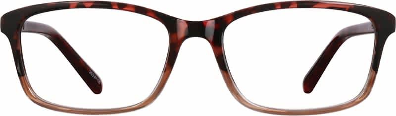 Zenni Optical Women's Rectangle Glasses w/ Basic Rx Lenses