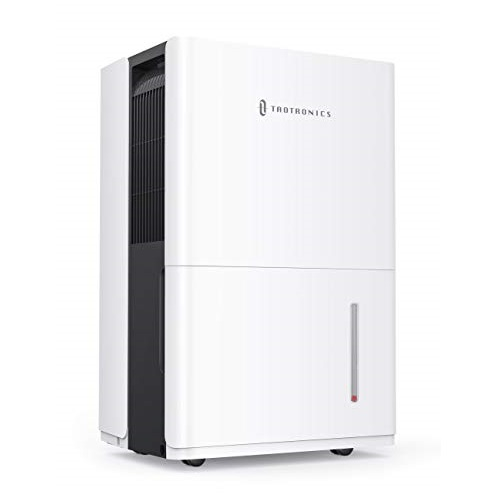 TaoTronics Dehumidifier with Pump 50 Pint for 4500 Sq. Ft, Energy Star Dehumidifier for Basement with 6L Water Tank, Intelligent Humidity Control, Continuous Drainage