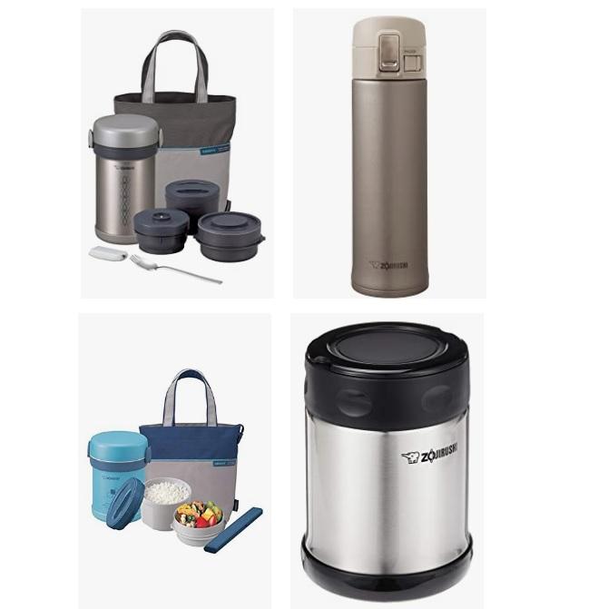 金盒特价!Amazon精选Zojirushi 保温杯和食物保鲜罐大促销!