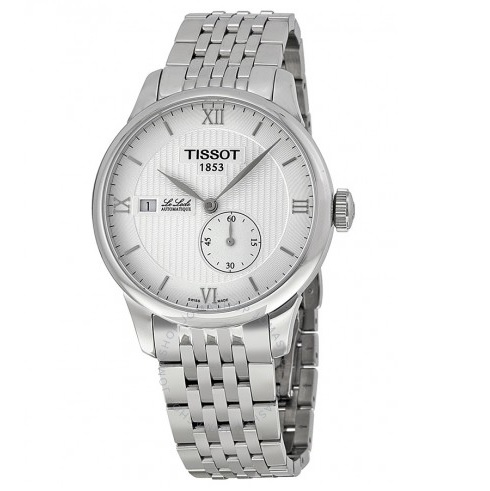 TISSOT Le Locle Automatic Silver Dial Stainless Steel Men's Watch Item No. T0064281103800