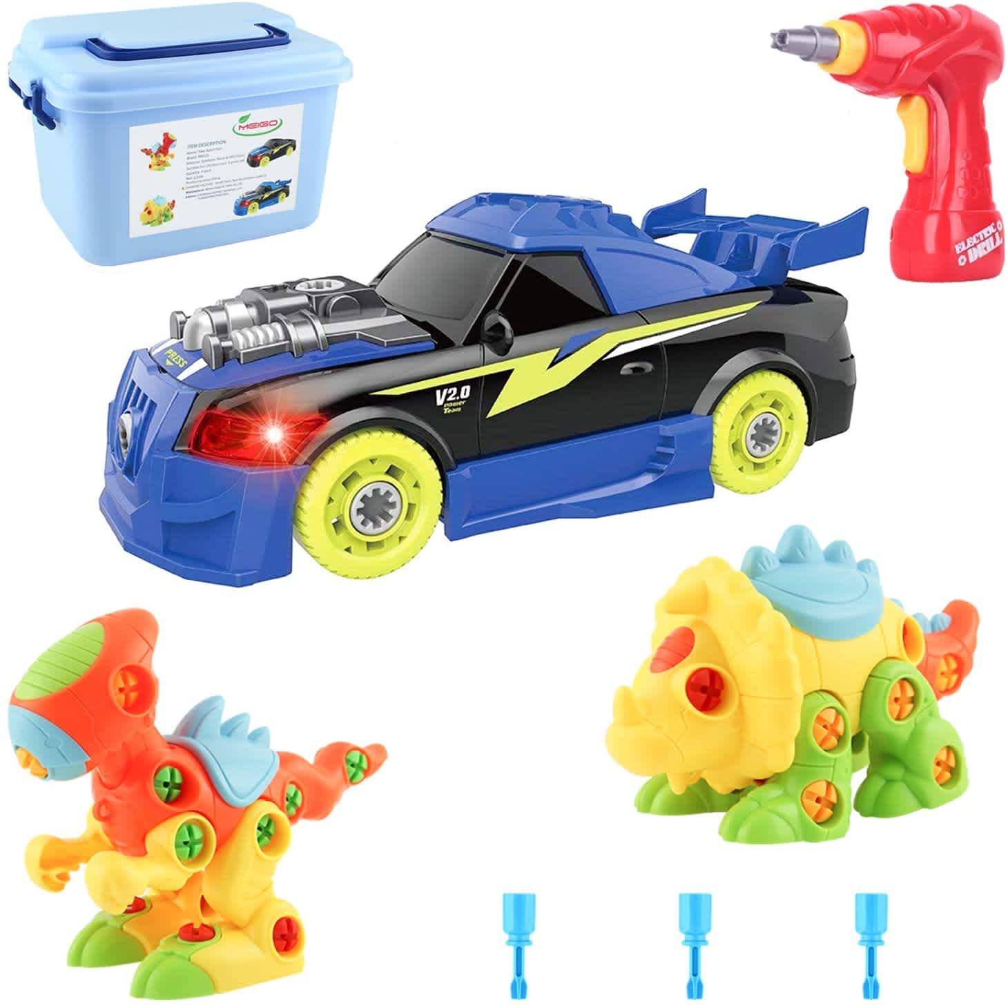 Meigo Take-Apart Toy STEM Learning Playset
