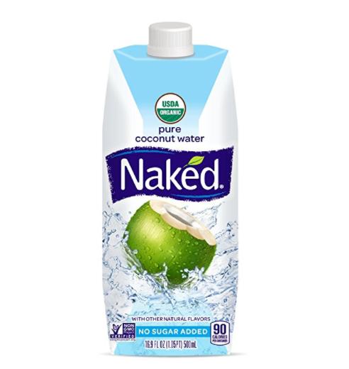 仅限今日!Naked Juice 100%纯天然有机椰子水,16.9ozx12盒