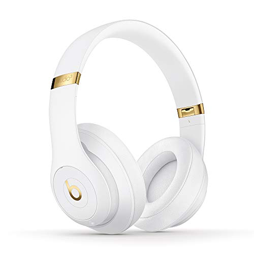 Beats Studio3 Wireless Over‑Ear Headphones - White (Latest Model)